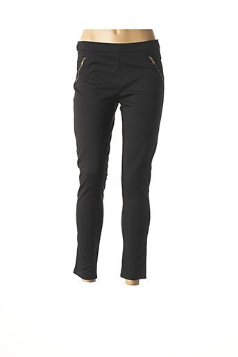 Pantalon 7/8 noir ALCOTT pour femme