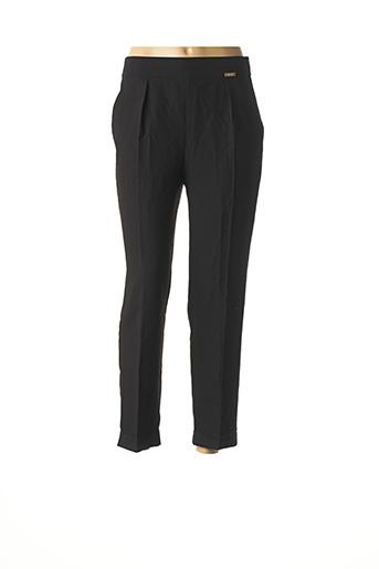 Pantalon 7/8 noir FIGL pour femme