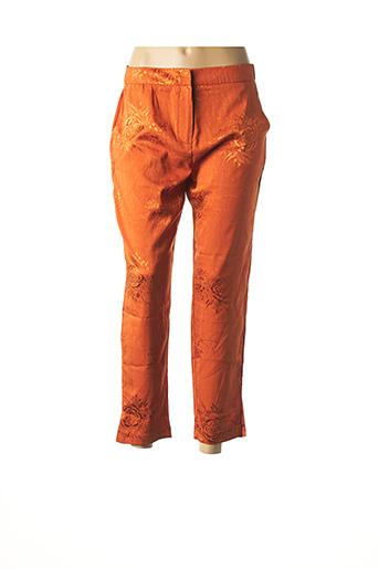 Pantalon 7/8 orange COLLECTION IRL pour femme