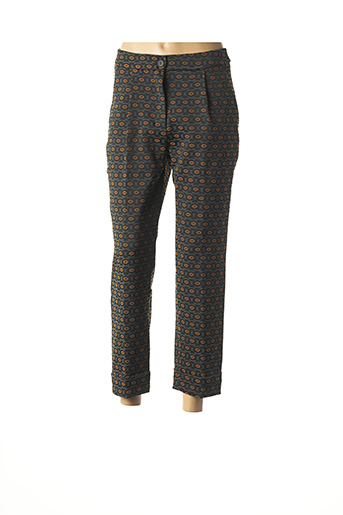 Pantalon 7/8 vert ALPHA STUDIO pour femme