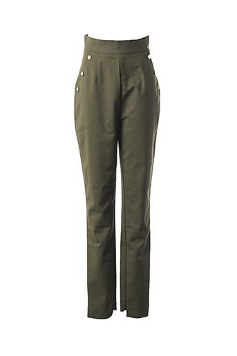 Pantalon chic vert MARCIANO pour femme