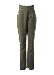 Pantalon chic vert MARCIANO pour femme seconde vue