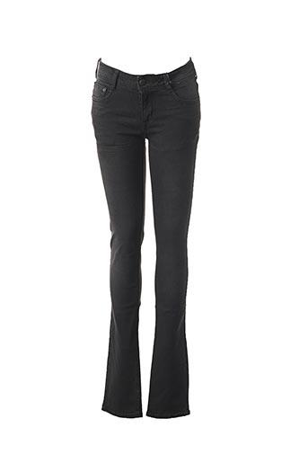 Jeans coupe slim noir CIMARRON pour femme