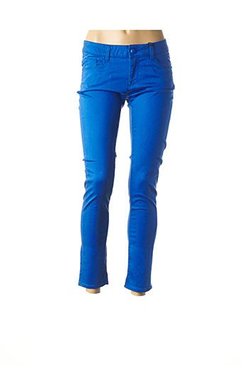 Pantalon casual bleu LOVE MOSCHINO pour femme