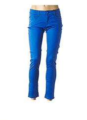 Pantalon casual bleu LOVE MOSCHINO pour femme seconde vue