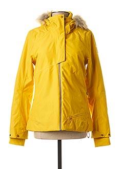 Veste casual jaune EIDER pour femme