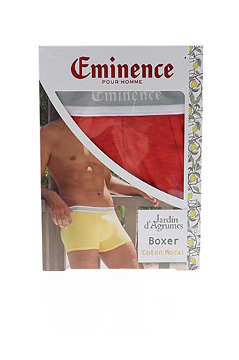 Shorty/Boxer rouge EMINENCE pour homme