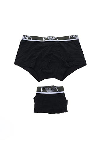Shorty/Boxer noir ARMANI pour homme