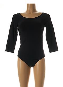 Body lingerie noir WOLFORD pour femme