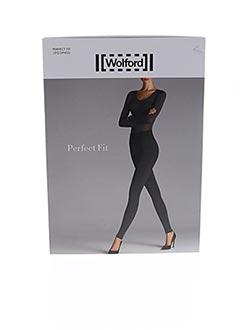 Panty noir WOLFORD pour femme