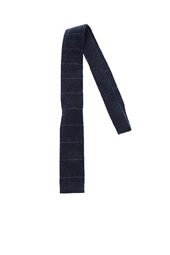 Cravate bleu DANIEL CREMIEUX pour homme