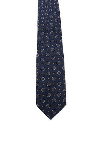Cravate bleu DRAKE'S pour homme