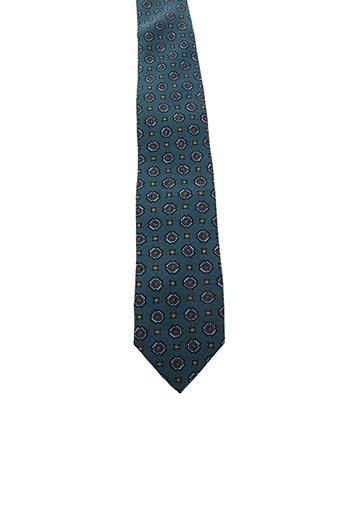 Cravate vert DRAKE'S pour homme