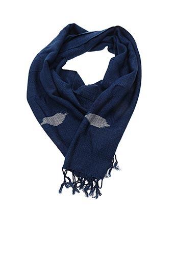 Foulard bleu IL BUSETTO pour femme