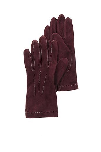 Gants rouge ISOTONER pour femme