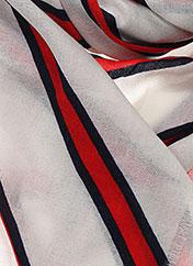 Foulard rouge BY MALENE BIRGER pour femme seconde vue