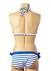 Maillot de bain 2 pièces bleu PETIT BATEAU pour femme seconde vue