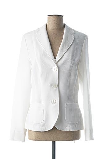 Veste casual blanc LEBEK pour femme
