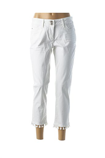 Jeans coupe slim blanc BETTY BARCLAY pour femme