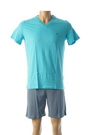 Pyjashort bleu HOM pour homme