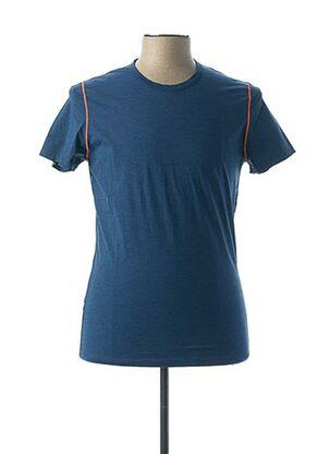 T-shirt manches courtes bleu HOM pour homme