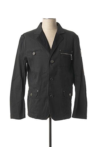 Veste casual noir CAMBE pour homme