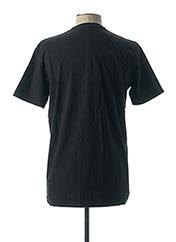 T-shirt manches courtes noir CAMBERABERO pour homme seconde vue
