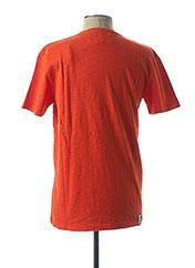 T-shirt manches courtes orange CAMBERABERO pour homme seconde vue