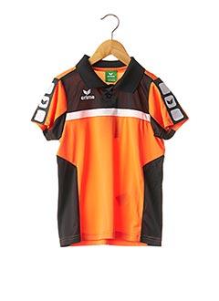 Polo manches courtes orange ERIMA pour enfant