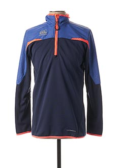 Sweat-shirt bleu CANTERBURY pour homme