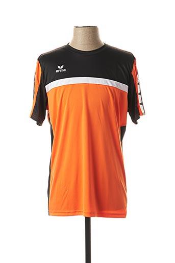 T-shirt manches courtes orange ERIMA pour homme