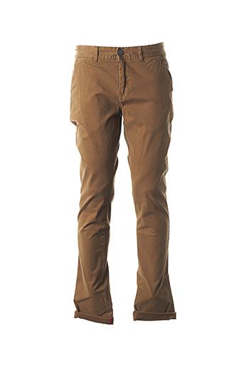 Pantalon casual marron NO EXCESS pour homme