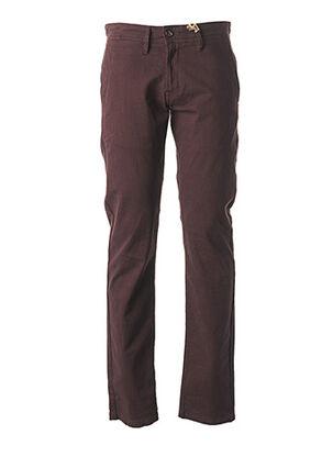 Pantalon casual rouge CAMBERABERO pour homme