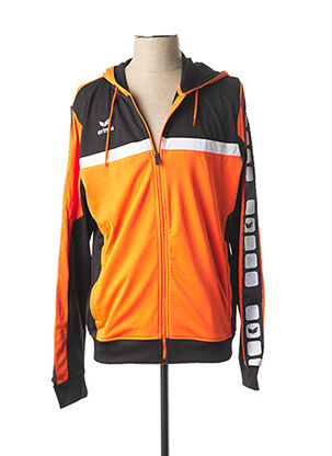 Veste casual orange ERIMA pour homme