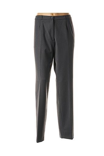 Pantalon casual gris ANNE KELLY pour femme
