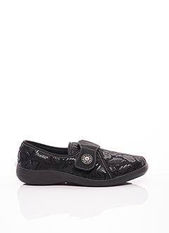 Chaussures de confort noir PODOWELL pour femme