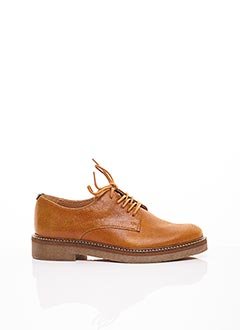 Derbies marron KICKERS pour femme