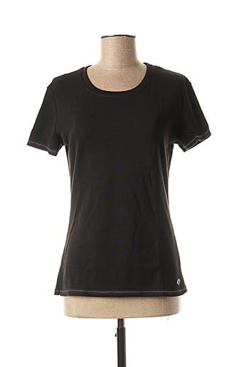 T-shirt manches courtes noir DAMART pour femme
