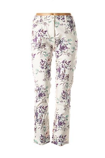 Pantalon casual violet DAMART pour femme