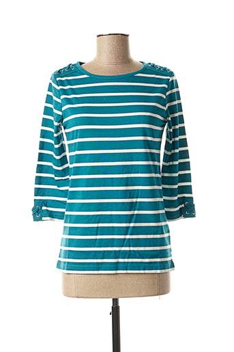 T-shirt manches longues bleu DAMART pour femme