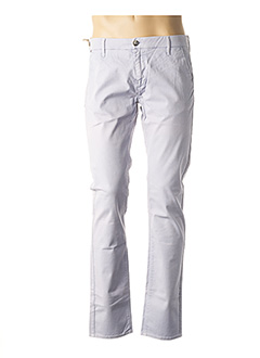 Pantalon casual bleu GASA pour homme
