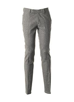 Pantalon casual gris JOHN BARRITT pour homme