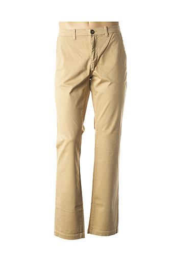 Pantalon casual beige ATELIER OSCAR pour homme