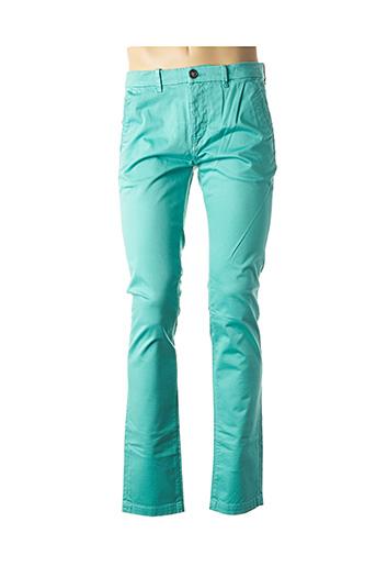 Pantalon casual vert ATELIER OSCAR pour homme
