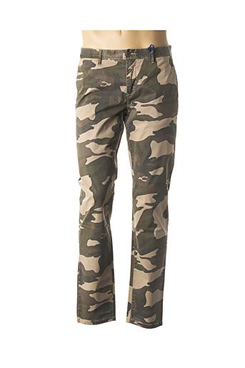 Pantalon casual vert FAT NSNR pour homme