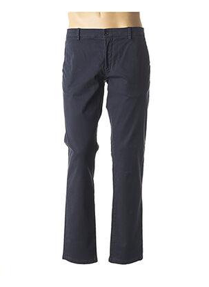 Pantalon casual bleu JOHN BARRITT pour homme