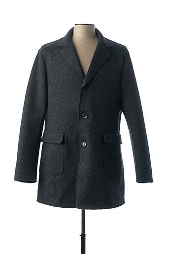 Manteau long bleu GAS pour homme