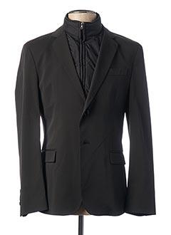 Veste casual noir JOHN BARRITT pour homme