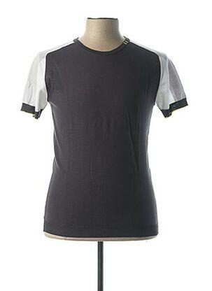 T-shirt manches courtes gris VNECK pour homme