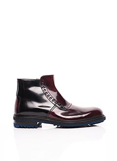 Bottines/Boots rouge KOIL pour homme